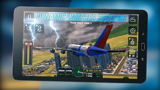 Flight Sim 2018 MOD APK | Flight Sim Unlimited Money APK 6