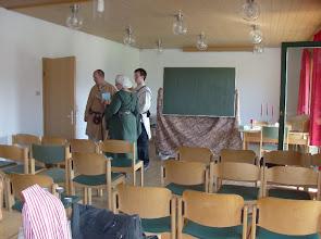 Photo: Warten auf die erste Vorlesung.