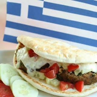 Healthy Greek Gyro.