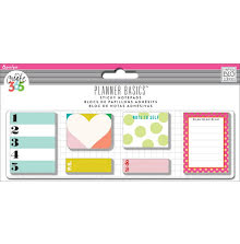 Me & My Big Ideas Create 365 Happy Planner Sticky Notes 140/Pkg - Bright