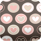 brown hearts wallpaper ver2