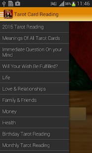 Tarot Card Reading - screenshot thumbnail
