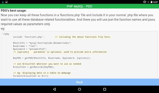... PHP MySQL Connectivity- screenshot thumbnail