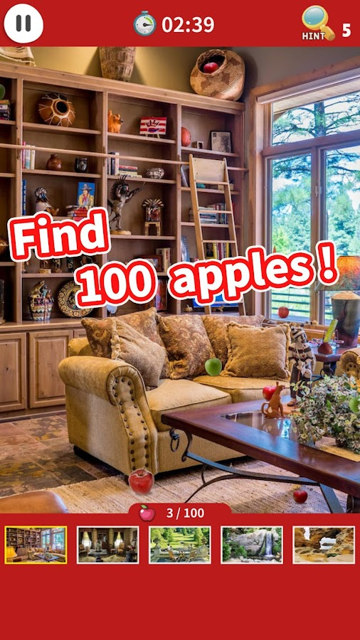 Find 100 Apples- screenshot