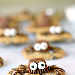 Gluten-Free Spider Cookies.