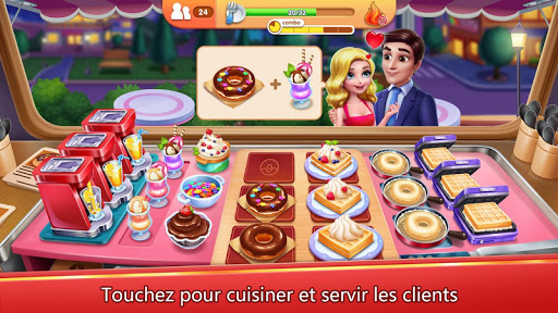 Code Triche Ma cuisine APK MOD screenshots 1