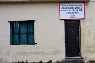 Photo: Marcas de la Memoria (1) La huelga general, 27/06/1973. Ex sede del Sindicato del Vidrio. Laureles 642 (esq. Carlos Tellier).