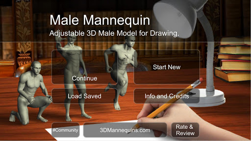 Male Mannequin 1.0 screenshots 1