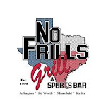 Logo for No Frills Grill & Sports Bar - Fort Worth
