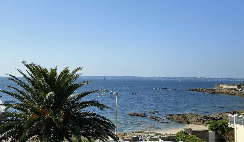 Appartement avec terrasse en bord de mer Ploemeur