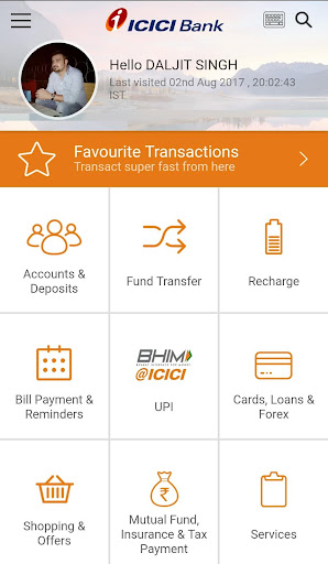 iMobile by ICICI Bank app (apk) free download for Android/PC/Windows screenshot