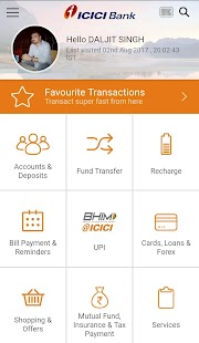 iMobile by ICICI Bank- screenshot thumbnail