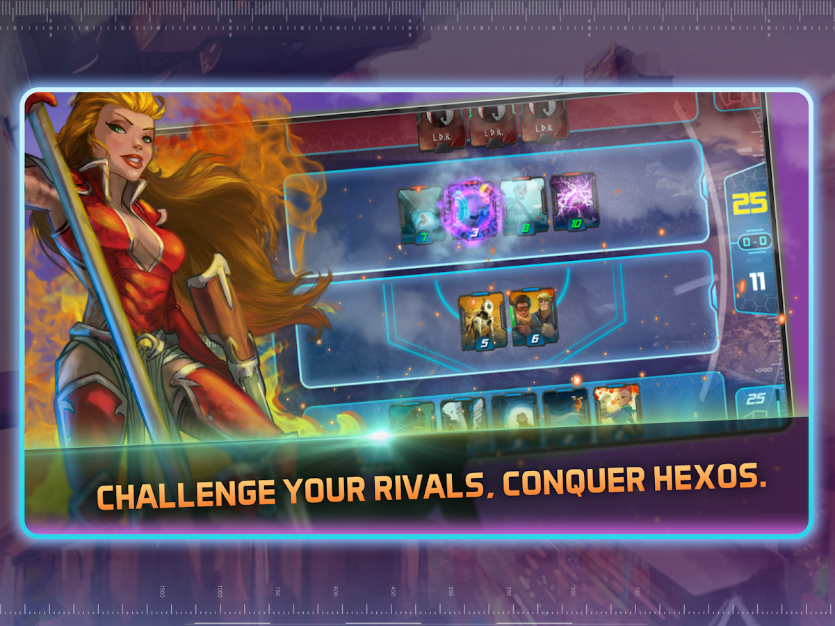 Hexos: CCG- screenshot