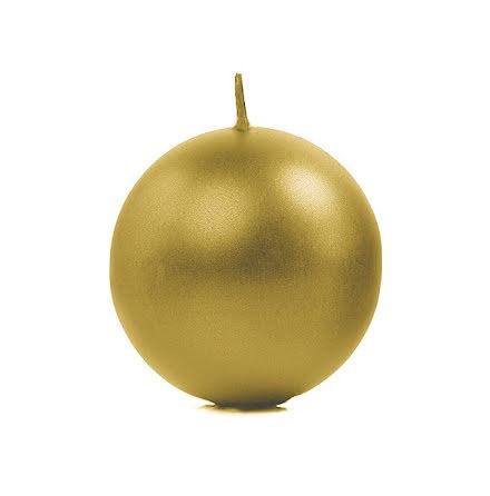 Klotljus guld, 8 cm