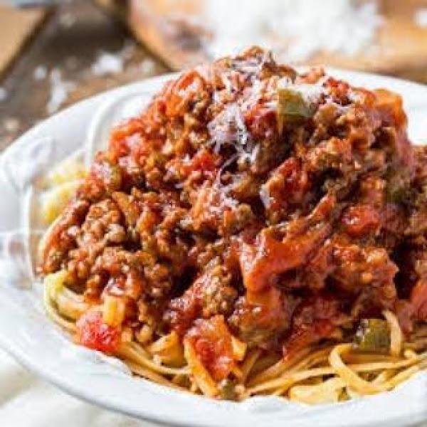Labor Of Love Spaghetti Sauce, Iris Recipe