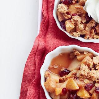 Apple-Pear Crisp with Peanut Butter