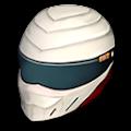 レイサーのヘルメット