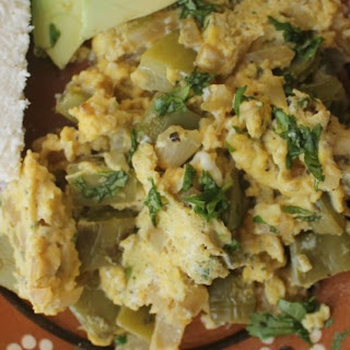Nopales Con Huevo (Cactus with Eggs) Recipe