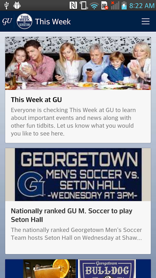 Georgetown Mobile- screenshot
