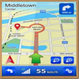 GPS Navigation That Talks Icon