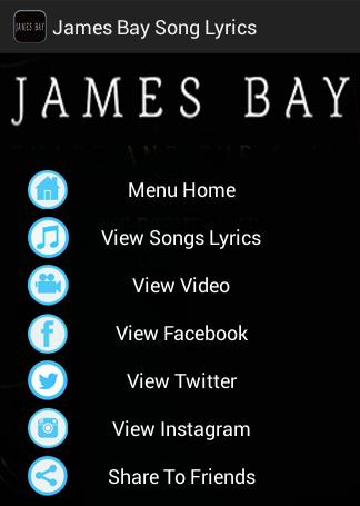 Let It Go James Bay Lyrics