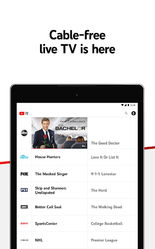 YouTube TV - Watch & Record Live TV 4.33.3 Screenshots 11