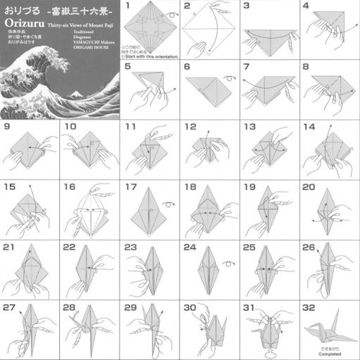 guide origami apprendre japonais orizuru