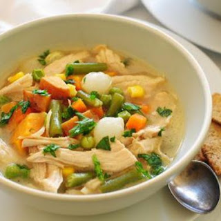 Leftover Turkey Carcass Soup