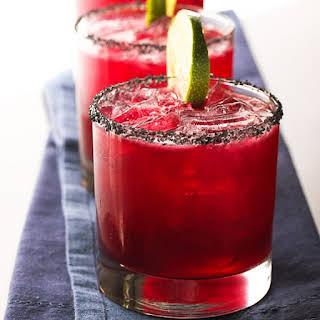 Hibiscus Margarita Cocktail.