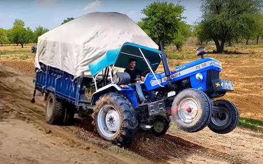 Heavy Tractor Pulling & Farming Drive Simulator 1.7 screenshots 1