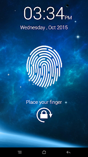 FingerPrint Lock Screen Prank screenshot