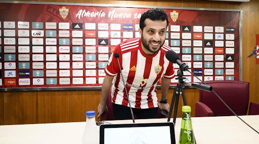 Turki Al-Sheikh en su segunda visita a Almería.