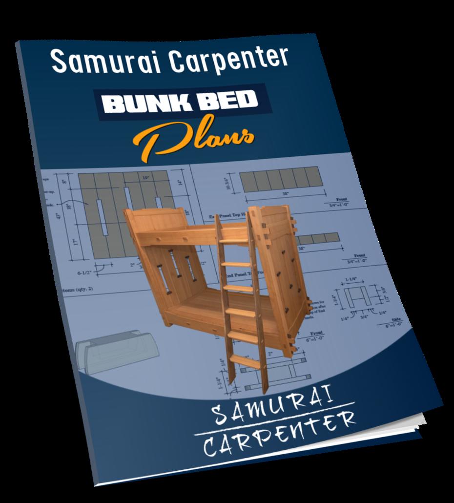 Samurai Carpenter Bunk Bed Plans