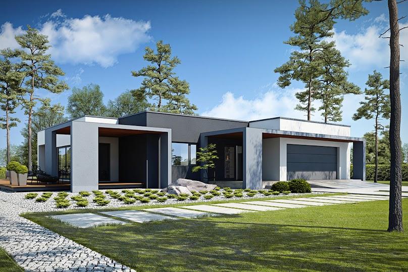 Projekt domu Przejrzysty D27