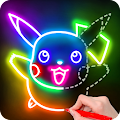 Draw Glow Cartoon - How to draw download