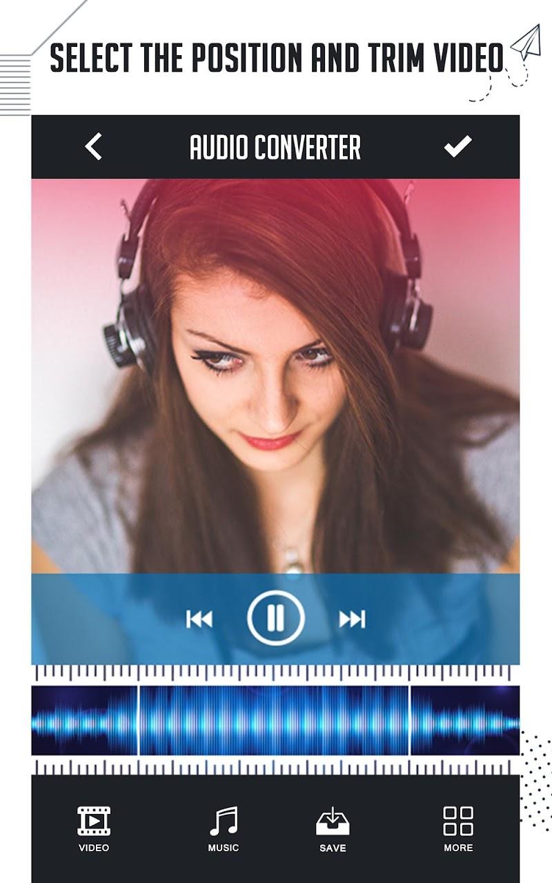 Скриншот Video To Audio Converter, UltraFast Mp3 Converter