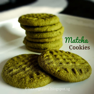 Matcha Soft Cookies.