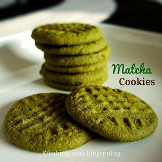 Matcha Soft Cookies.