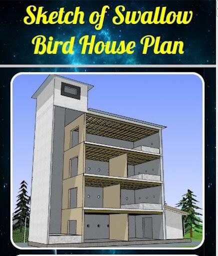 Sketch of Swallow Bird House Plan 2.0 screenshots 2