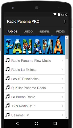 Radio Panama Gratis PRO ss1