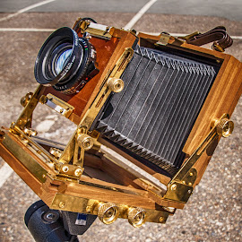 Historic Camera by Richard Michael Lingo - Artistic Objects Business Objects ( camera, artistic objects, historic, classic, business,  )
