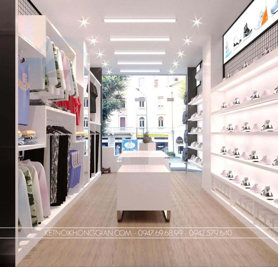 Giá treo quần áo và kệ giày hiện đại
