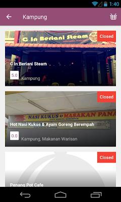 Makan2U - screenshot