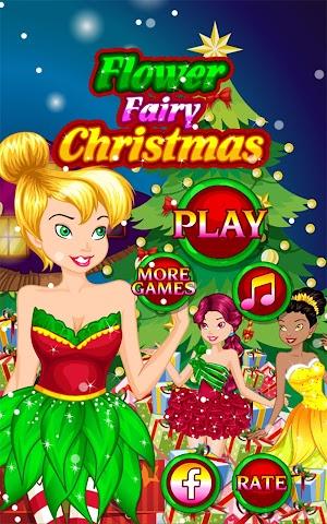 android Flower Fairy Christmas Screenshot 5