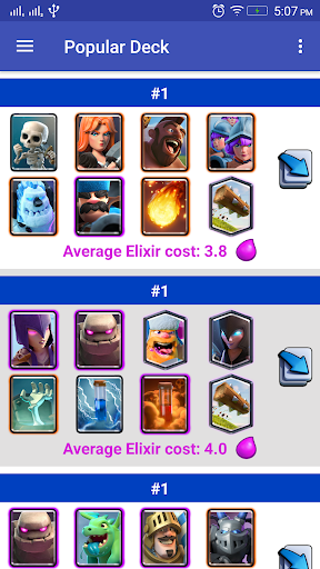 Stats Clash Royale Chest cycle 1.0.7 screenshots 6
