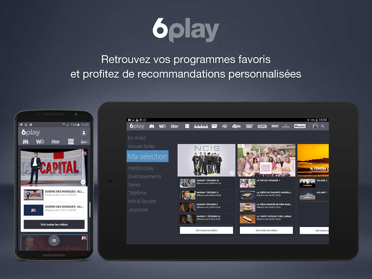 6play, TV en direct et replay- screenshot