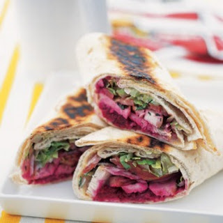 Lebanese Wrap With Chargrilled Chicken.