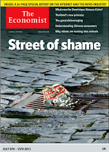 Photo: The Economist cover: UK edition. July 9th 2011
