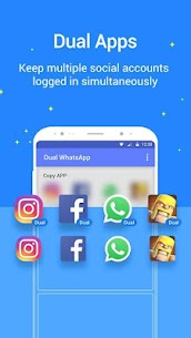 Dual Space – Multiple Accounts For All Social Apps 2