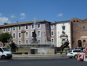 Photo: Fountain near Presidential Palace